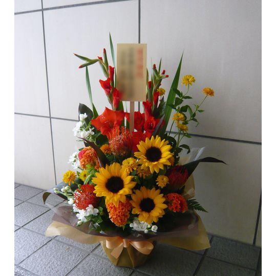 花束 5000 円 大き さ